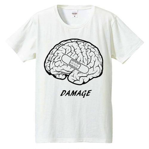 [Tシャツ] Damage[Brain]
