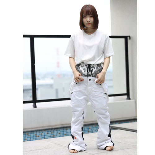6.29 TYJ LYVER PRODUCTION×MARQLEEN 17live配信分 葵あおい様着用 ML9500 GALAXXY pants 000 white ※送料無料サービス