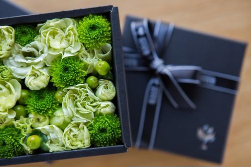 フラワーボックスコレクション  NO.4クリストフ クリスマス アレンジメント プレゼント サプライズ お祝い 誕生日 記念日