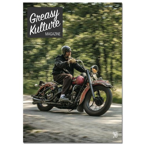 Greasy Kulture magazine issue#76