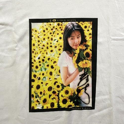 90s 木村佳乃   photo tee (V0776M)