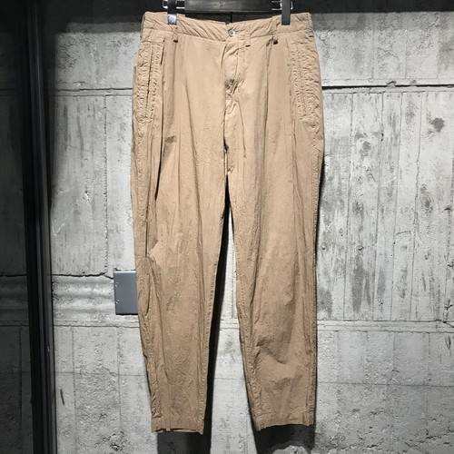 08sircus Compact lawn garment dyed pants