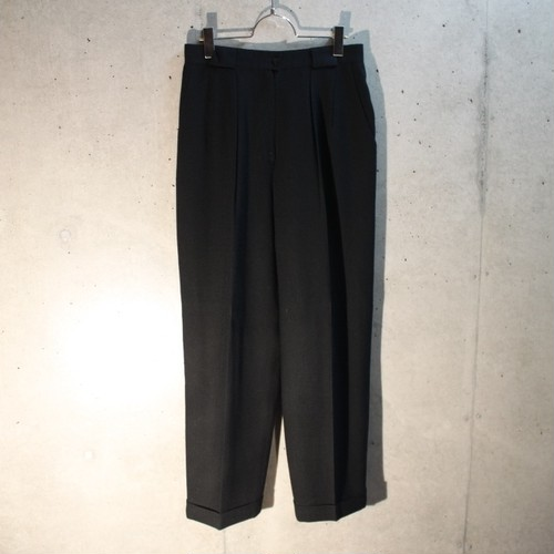 Wool 2Tuck Slacks