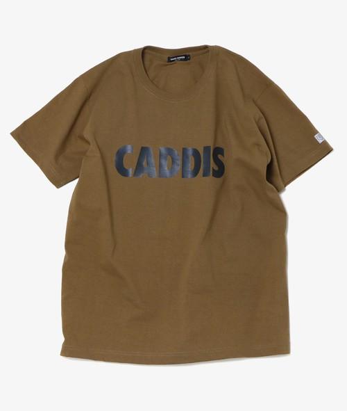 CADDIS PUPA TEE DARK CAMEL