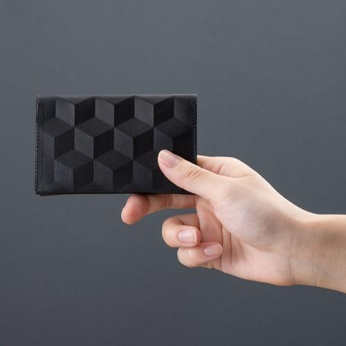 HEXAGON PATTERN CARD CASE