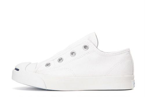 Converse KID'S JACK PURCELL SLIP ( ホワイト)キッズ コンバース ジャックパーセル