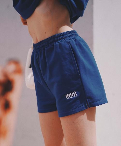 Point logo sweat pants