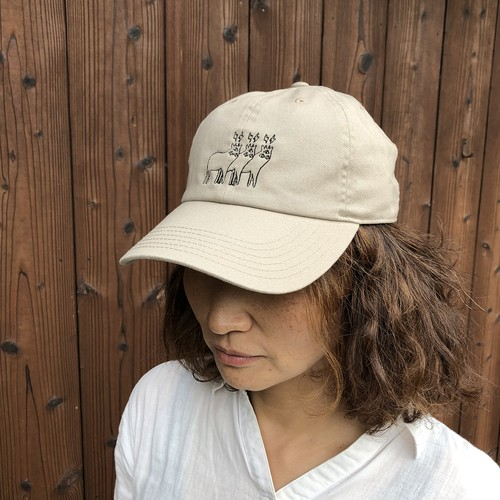 『KM4K』 STAFF CAP カモシカ スタッフキャップ