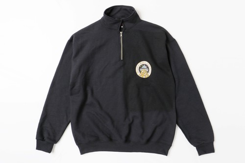 UFO ZIP Sweat BLACK