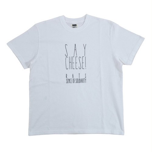 RATS×WTAPS×UNDERCOVER - SAY CHEESE! TEE - WHITE