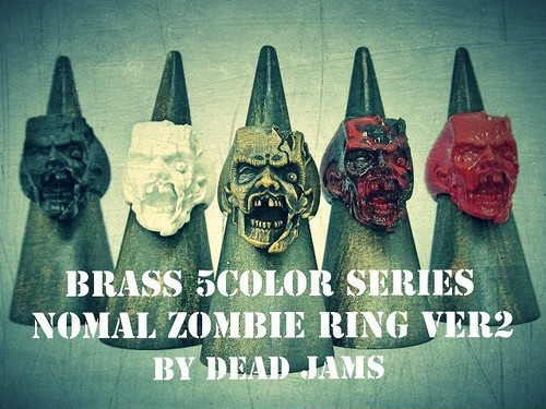 Brass 5color series FZ12 (Nomal Zombie ring ver2)