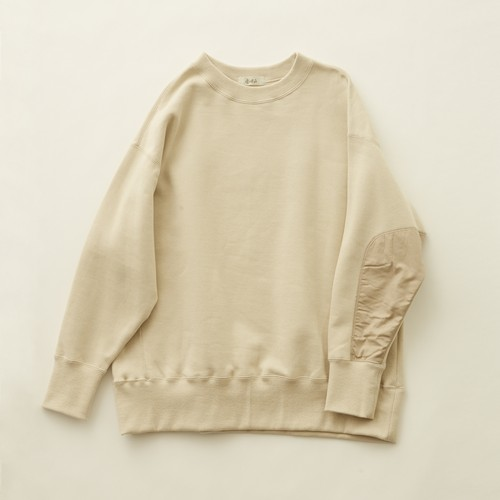 《eLfinFolk 2020AW》big sweat shirts / ecru / 140cm