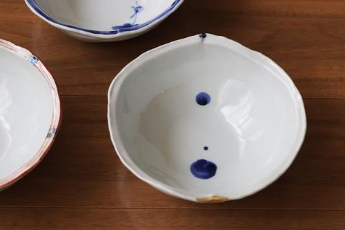 松尾貞一郎 変形取り鉢 020820-K10 貞土窯(有田焼)直径約14cmのお鍋の取り鉢にちょうど良いサイズの鉢