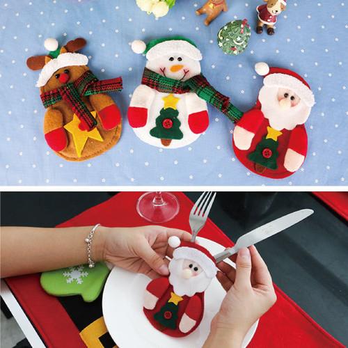 雪だるま カラトリーケース カラトリー カラトリーラッピング ラッピング パーティー X'mas クリスマス X961108
