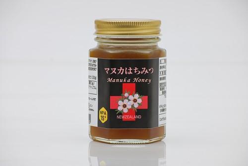 マヌカハニー(マヌカはちみつ)NPA15+(UMF15+に相当)180g 【ニュージーランド産】