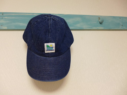 remake denim cap <shore> indigo