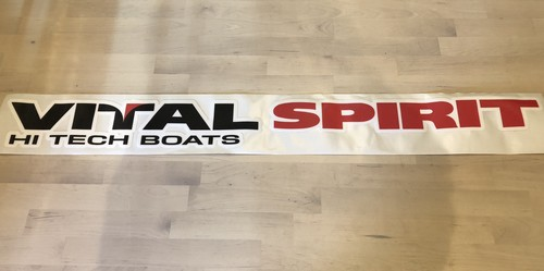 VITAL SPIRIT HI TECH BOATS カーペットデカール