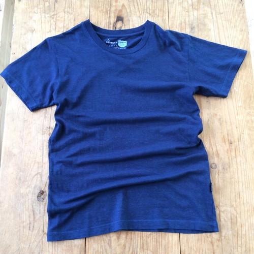 iBB×GOHEMP オリジナル藍染Tシャツ【藍色】