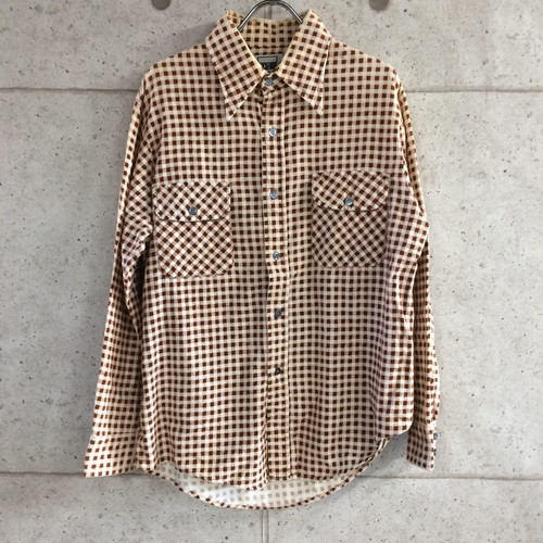OLD WICKFORD チェックシャツ size:M