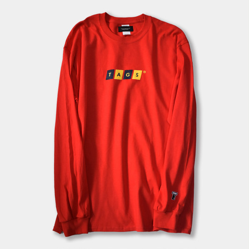 Cutter L/S Tee Red
