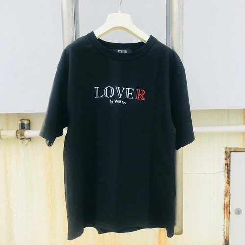 RE:OMG LOVER T-SHIRT 黒 (送料込)