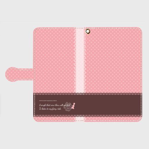 手帳型スマホケース・アリス Android用