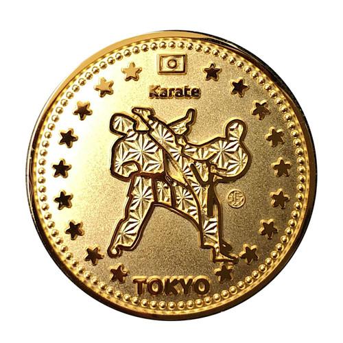 空手 東京スポーツ ゴールドコイン Tokyo Sports Gold Medals Karate
