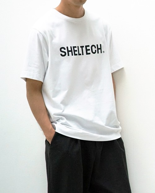 "SHELTECH ""LOGO"" Tシャツ(WHITE)"