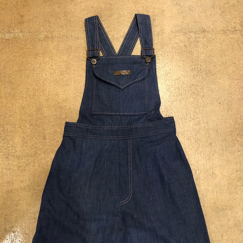 Vintage Denim Flare Overalls ¥12,800+tax