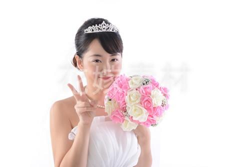 【0130】ブーケを持つ花嫁