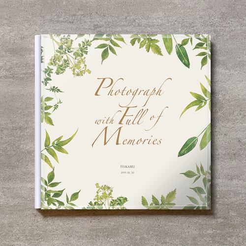 Precious(Title only)-成人式_A4スクエア_10ページ/20カット_クラシックアルバム(アクリルカバー)