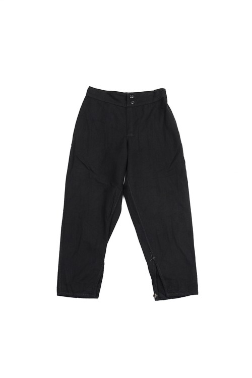 Russian army sleeping cotton pants‬ (black)