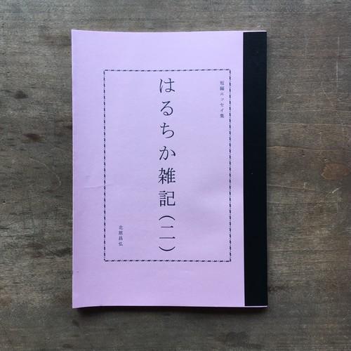 北原昌弘「はるちか雑記(二)」Book