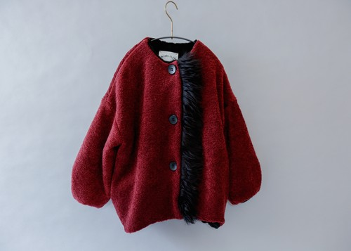 《michirico 2019AW》Boa coat / engine