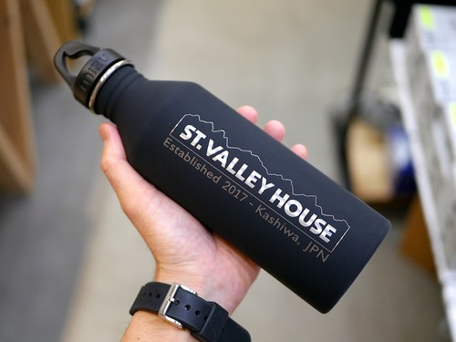 MIZU × st.valley house / STAINLESS WATER BOTTLE