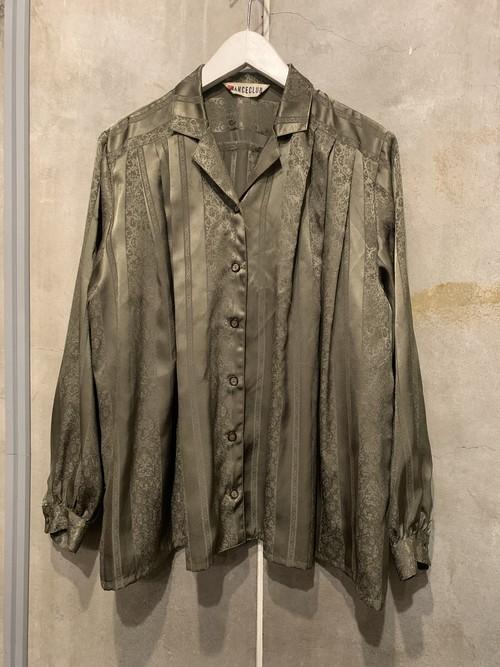 (TOYO) design l/s blouse