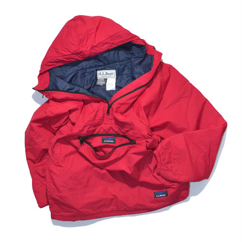 Used☆ L.L.Bean Thinsulate anorak parka