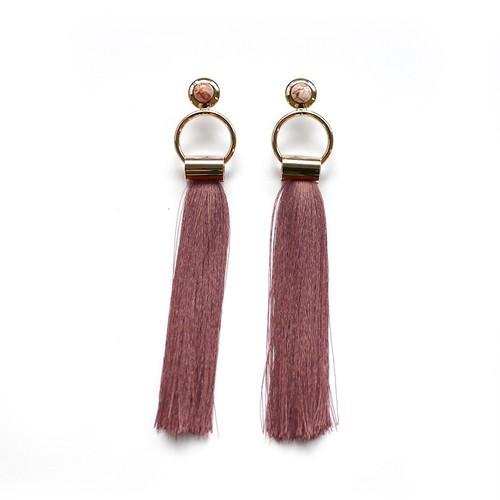 SOL Earrings GOLD/PINK