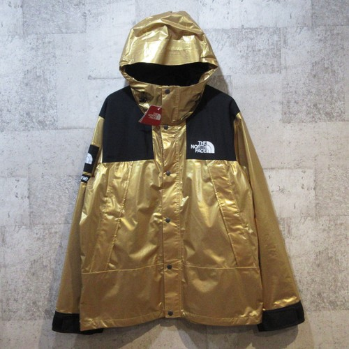 SUPREME×TNF 18SS Metallic Mountain Jacket