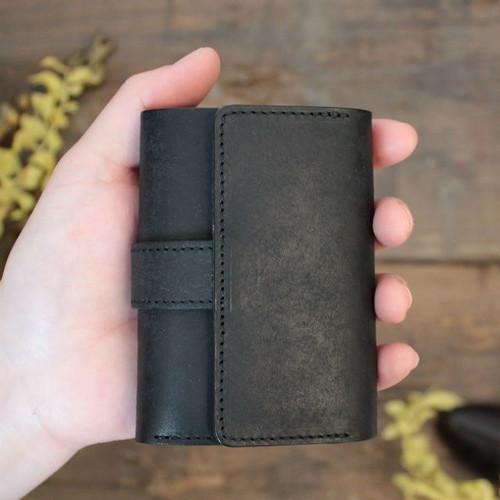 MitsuOri Wallet / BLACK (プエブロ)