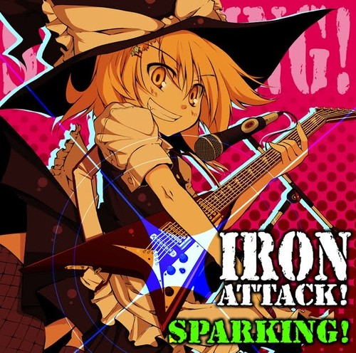 IRON ATTACK!/SPARKING(MIA012)