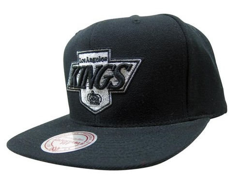 MITCHELL&NESS SNAPBACK CAP (NHL/Los Angeles Kings-4: BLACK)