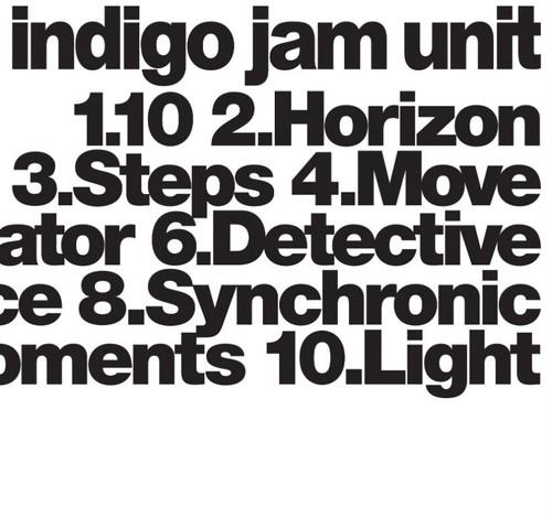 """indigo jam unit  10th album """"indigo jam unit""""(1点サイン付き)"""