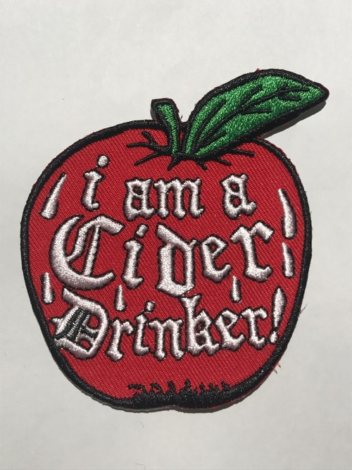 "GOBLINKO""I AM A CIDER DRINKER PATCH"""