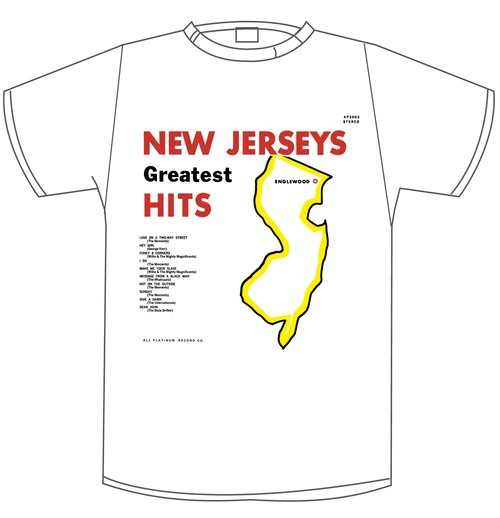 New Jergey Greatest Hits-Tシャツ