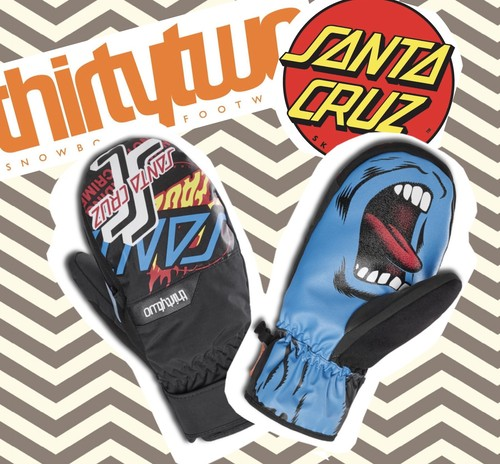 【THIRTY TWO】thirty two×SANTA CRUZ コラボモデル SCREAMING MITT