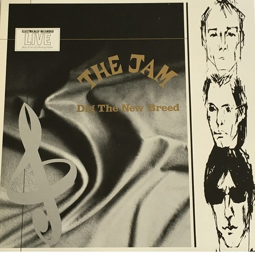 【LP・加盤】The Jam / Dig The New Breed