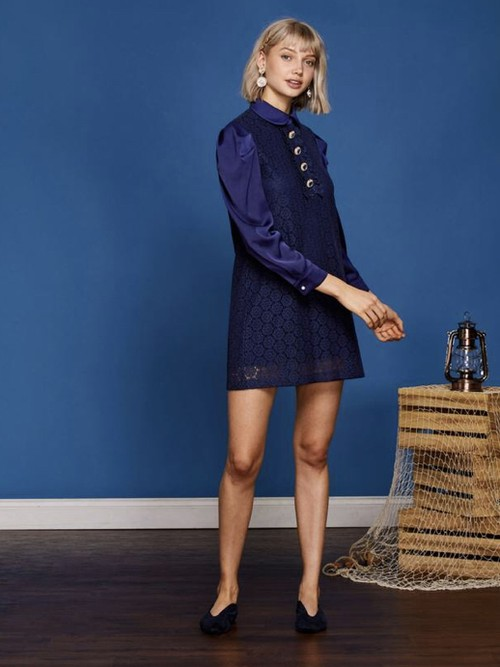 【sister jane】Lace Shift Dress