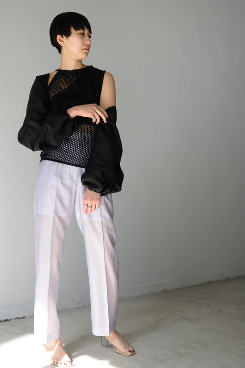 ROOM211 / Lawn Trousers (lavender)
