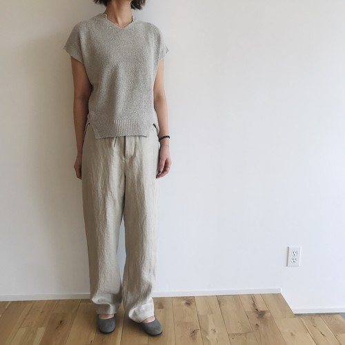comm.arch.(コムアーチ)CHUNKY SILK NOIL S/S